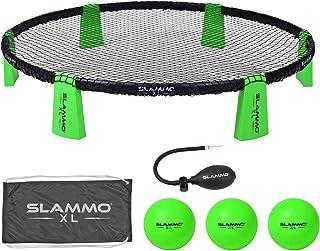 GoSports Slammo XL 游戏套装 - 巨大的48英寸(约121.9厘米)网   非常适合初学者、年轻玩家或群体游戏,*