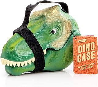 Suck UK SK BOXDINO1 儿童恐龙午餐盒   玩具存储   卧室装饰和组织   塑料*