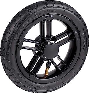 Meister 充气轮 Ø 205 毫米 - 塑料轮辋 - 20 千克 承载力 - 高品质球轴承 - 1.9 巴轮胎压力/全轮带轮辋/车轮,适用于购物手推车/备用车轮 / 6816822
