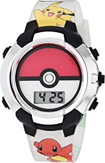 Pokemon 宝可梦 男孩 石英手表 橡胶表带 多色 13 (型号:POK4245AZ)