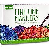 Crayola 成人彩色 144 months to 1200 months 标准包装 Fine Line Marker…