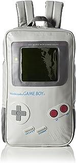 Nintendo 任天堂 游戏机形男孩背包(默认,灰色)