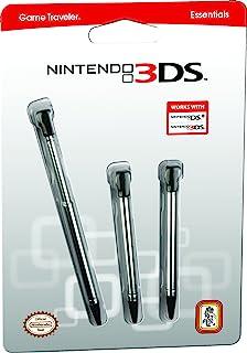 官方*任天堂 3DS 可伸缩手写笔 – 三只装 – 适合任天堂 3DS 和 任天堂 DSi – 任天堂官方*产品 3DS,3DS XL,3DS LL