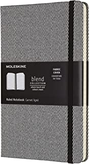 Moleskine Blend 系列横线黑色笔记本 (大型)