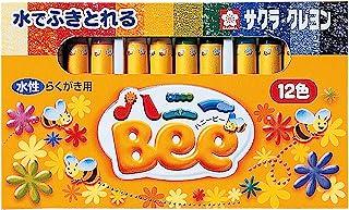 樱花蜡笔水性蜡笔 蜜蜂 Bee 12色 WY12R1