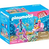 Playmobil 70033 入门套装海洋马车彩色玩具组合