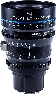 Schneider-Kreuznach 1085551 Cine 镜头,FF-Prime T2.1/75毫米,Sony 索尼 E / m 黑色