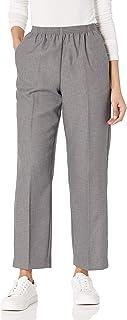 Alfred Dunner 女士小号涤纶比例中等长裤