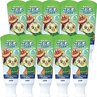 LION 狮王 儿童牙膏 面包超人 甜瓜味 40克×10件
