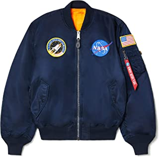 Alpha Industries 男式 NASA MA-1 Bomber 飞行员夹克
