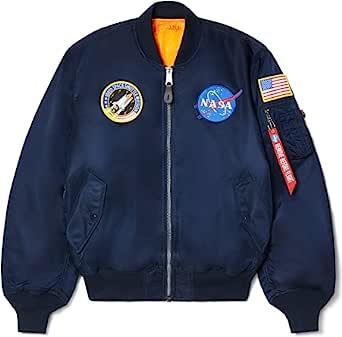 Alpha INDUSTRIES 男式 NASA MA-1飞行夹克