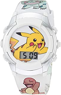 Pokemon 宝可梦 男孩 石英手表 橡胶表带 多色 13(型号:POK4240AZ)