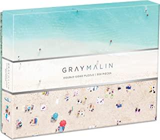 Galison 灰色Malin夏威夷海滩双面 500 片拼图