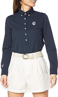 Perry Gate 长袖 Polo衫 30/1×150d T/C褶皱鹿 8口 / 055-1161202 女款