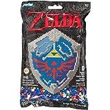Perler Beads Nintendo's The Legend of Zelda Hylian 盾牌图案和熔珠套装…