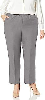 Alfred Dunner 女式加大码涤纶比例中号裤子