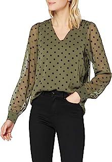 ONLY 女士 Onljess Puff L/S 上衣 WVN 束腰衬衫