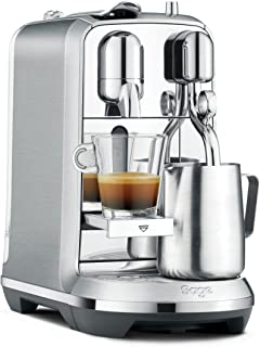 Sage Nespresso 胶囊咖啡机 the Creatista Plus SNE800BSS4EGE1,1600,1L,拉丝不锈钢