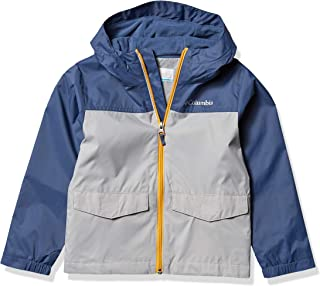 Columbia 哥伦比亚 男童Rain-Zilla防水,反光夹克
