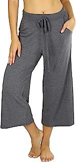ToBeInStyle 女式优质宽松七分裤休闲裤