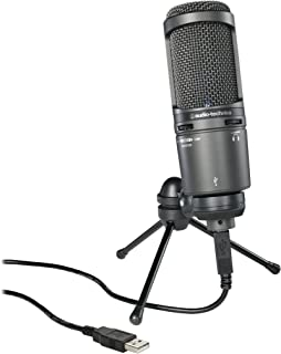 Audio-Technica 铁三角 AT2020USB+ 麦克风 -黑色
