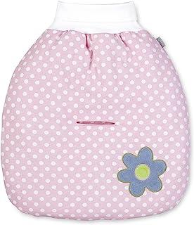 Sterntaler 填充爬行测试,年龄:适合从出生起的婴儿 粉色,白色