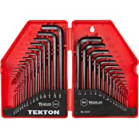 TEKTON 六角扳手套装,英寸/公制,30 件 - 25253