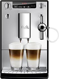 Melitta 全自动咖啡机 Caffeo Solo & Perfect Milk E957-103 纤薄,可自动制备卡布奇诺,自动清洁程序,自动研磨量调节,银色