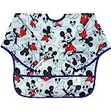 Bumkins Disney 迪士尼婴儿防水长袖围兜 Mickey Classic 6-24 个月