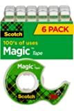 Scotch Magic Tape and Refillable Dispenser, 3/4 x 650 Inches…