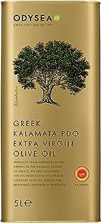 Odysea 希腊 PDO Kalamata 特级初榨橄榄油罐,5 升,OD998