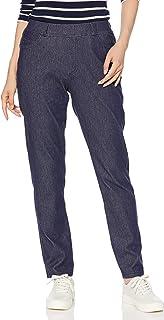 Cecile 裤子 小脚 针织牛仔布 精致针织 牛仔裤 女士