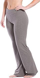 Fishers Finery 女式 Ecoffabric 经典靴腿瑜伽裤;运动裤