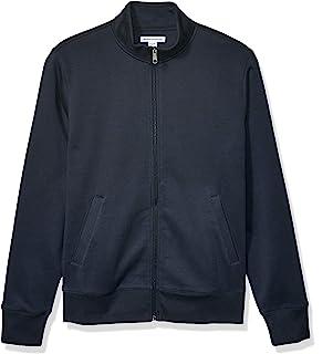 Amazon Essentials 男式全拉链羊毛企领运动衫