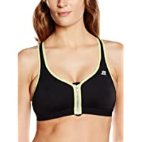 Shock Absorber Women's Active Zipped Plunge Sports Bra