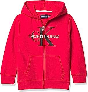 Calvin Klein 男童抓绒连帽衫