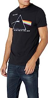 Pink Floyd 男式 DSOTM Courier 短袖 T 恤