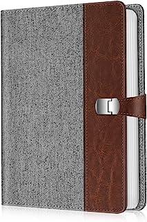 Fintie 相册 4x6 照片 - 112 张照片高级人造皮革封面,带按扣,便携式钱包相册(牛仔灰)