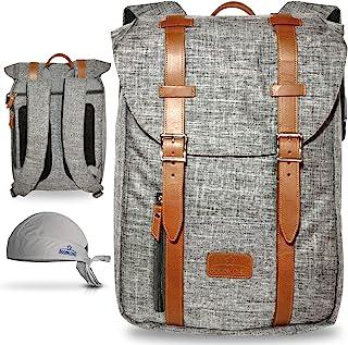 BOOBIKCHEF 厨师刀包耐用背包,适用于厨房工具,带衬垫厨师刀盒,防水,尼龙刀包,适合厨师(休闲)