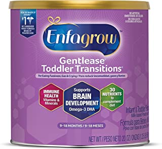Mead Johnson 美赞臣 Enfragrow, Gentletease 幼儿过渡奶粉 9-18个月 20 盎司/567g