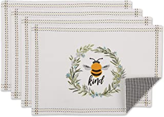 DII 蜂蜜系列厨房,可反穿餐垫套装,蜜蜂 Kind 4 件套