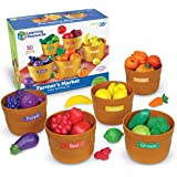 Learning Resources 农产品市场颜色分类套装 (3岁+)