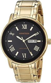Armitron 男式 20/4935 天/日期功能表盘手链手表
