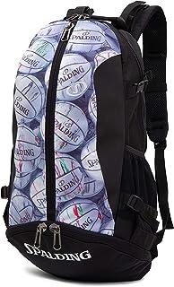 SPALDING(斯伯丁)篮球 包 背包 便携式 圆球 印花
