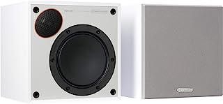 Monitor 50 书架扬声器,白色