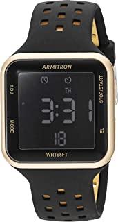 Armitron Sport 中性款 40/8417 数字计时硅胶表带手表