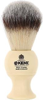 Kent BK8S 剃须刷,带超软银文本合成刷毛和人造象牙树脂手柄,与剃须膏或肥皂一起使用,打造完美泡沫。自 1777 年以来的奢华剃须,英国制造