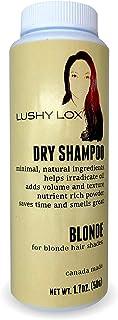 Lushy Lox 干洗发水粉适用于金发或浅发帘 - 天然成分 1.7 盎司(约 48.2 克)