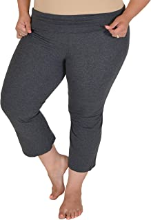 Stretch is Comfort 女式 加大码 CAPRI 瑜伽裤
