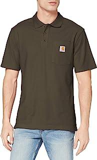 Carhartt 男式承包工装口袋 Polo 衫 原创版型 K570